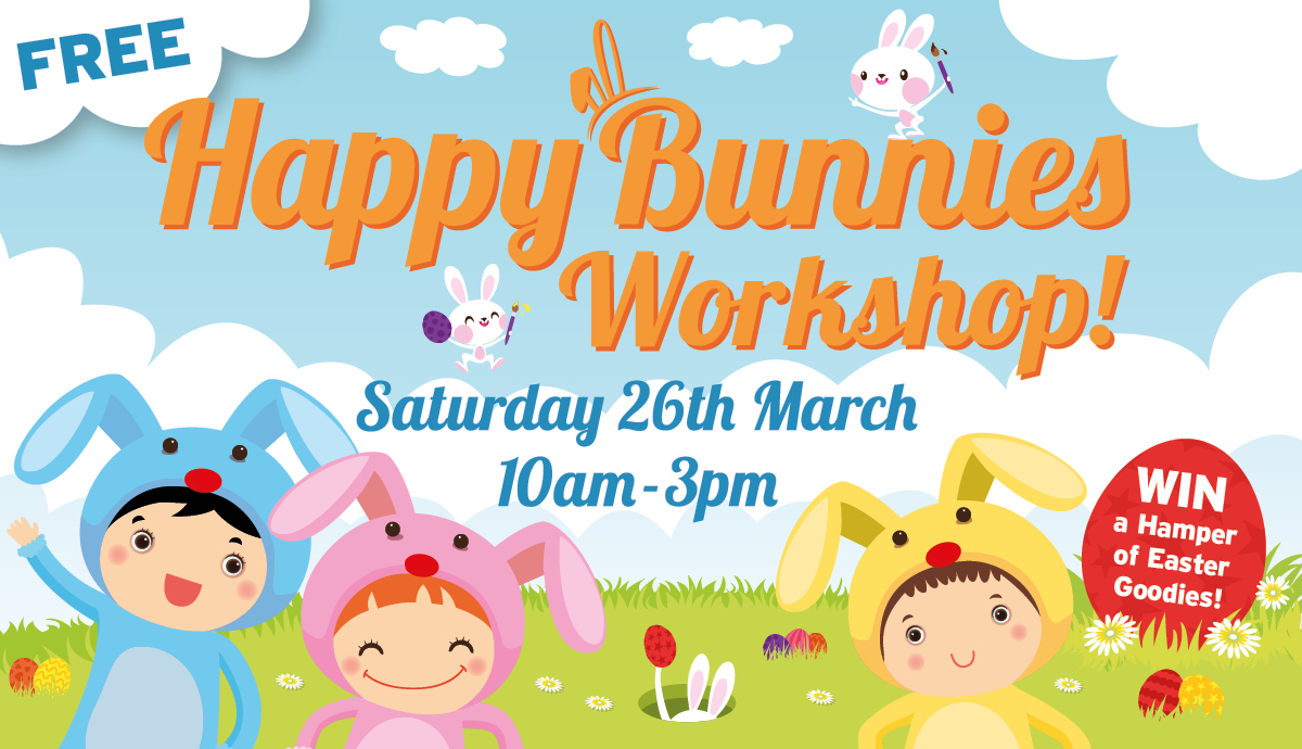 Free Happy Bunnies Workshop!